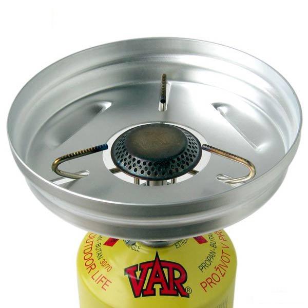 Závětří vařiče VAR 2 (chránič plamene na vařič Var)
