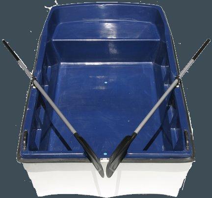 Pramice - rybářský člun 250 - rybářská loď (laminátová dvouplášťová pramice)