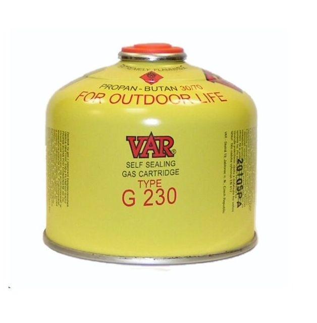 Plynová kartuše VAR G 230 (kartuše k plynovým vařičům)