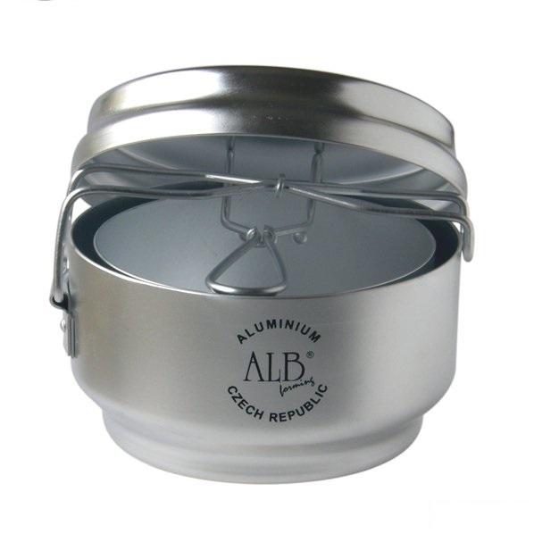 Ešus VAR hliníkový trojdílný (trojdílné hliníkové nádobí na turistiku i do kempu)