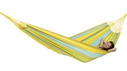 Houpací síť COLOMBIANA pro dva limona (síť houpací závěsná pro dva)