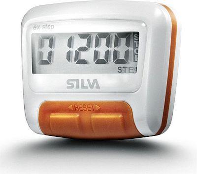 Krokoměr SILVA ex Step bílý (základní krokoměr s funkcí měření kroků)