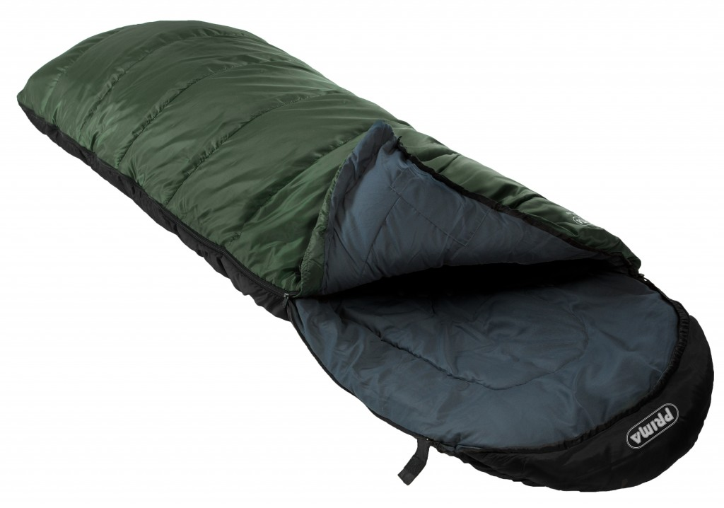 dekový spací pytel Prima COMFORT 400 zelená (teplý spacák dekáč Comfort)